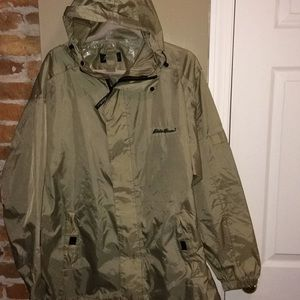 Men's rain gear size large Eddie Bauer